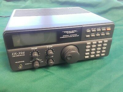 Realistic DX-394 HF Communications Receiver ***MODIFIED***