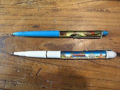 Lot of 2 vintage old floaty floating pens veneziaparis souvenir lot of 2 vintage old floaty floating pens veneziaparis souvenir italy france thecheapjerseys Image collections