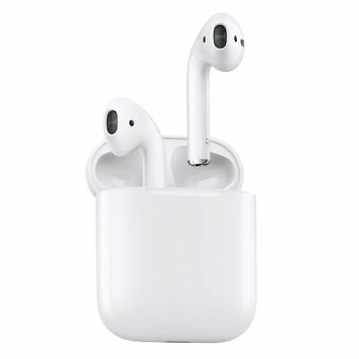 Apple AirPods - Écouteurs intra-auriculaire Bluetooth avec micro - Blanc