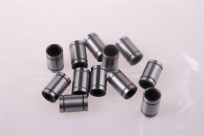 LM8UU 8mmx15mmx24mm Linear Bearings 3D Printer DIY CNC 12pcs