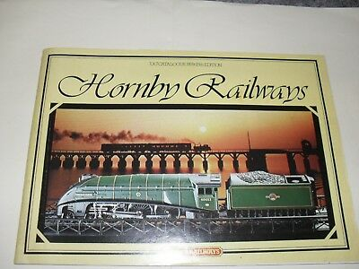 hornby railways r280 catalouge edition 25 1979 64 pages