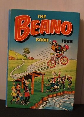 The Beano Book  1986 Annual Very Good Condition