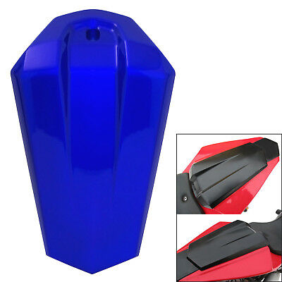 Passenger Rear Pillion Seat Cover Tail Cowl Blue For 2014-2016 YAMAHA YZF R125