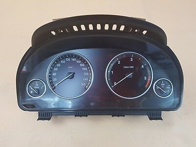 Original BMW F07 F10 F11 F25 X3 TACHO INSTRUMENTENKOMBI HEAD UP DISPLAY 9227575