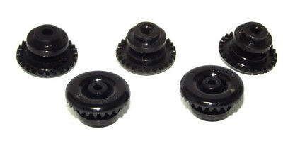 Pack Of 5 Crown Gear 1/32 Slot Car Inline Scale Tooth  27 Racing Parts Motor