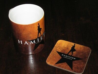 Hamilton An American Musical Mug Coaster Gift Set Mix n Match
