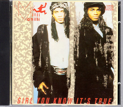 Milli Vanilli - Girl You Know It's True cd