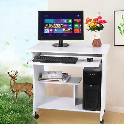 Computer Desk PC Laptop Table Keyboard Furniture Study Workstation Home Office
