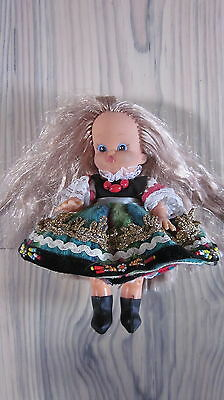 ❀ ALTE DDR PUPPE ❀ PUPPE ca. 17 cm ❀ in Tracht ❀ ❀ OSTALGIE