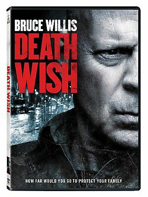 Death Wish (DVD,2018) NEW* Action,Thriller, Crime* PRE-ORDER SHIPS ON 06/05/18