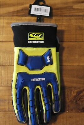 Ringers Gloves R-33 Extrication Gloves, Cut-Resistant Gloves, New - Large