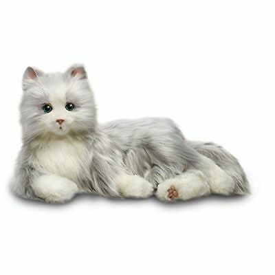 Joy For All -Silver Grey Robotic Companion Cat for People with Alzheimer's