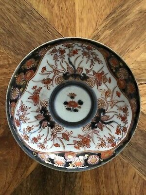 Antique Japanese Nabeshima Imari dish or saucer Late Edo - Meiji Period