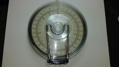 a vintage set of salter weighing scales