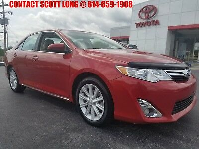 2012 Toyota Camry 2012 Camry XLE Sunroof Rear Backup Camera Toyota Certified 2012 Camry XLE Sunroof Rear Backup Camera Heated Leather Seats