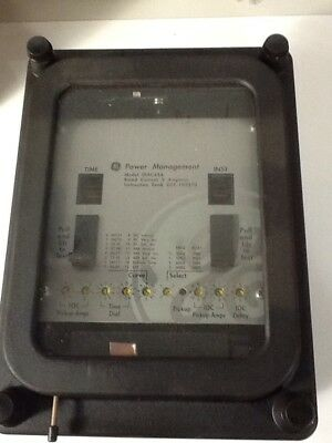 New GE Single Phase Digital O/C Overcurrent Protection Relay DIACA5B ~ Rated 5 A