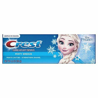 Crest Pro-Health Jr. Disney Frozen Characters Kids Minty Toothpaste 4.2 oz