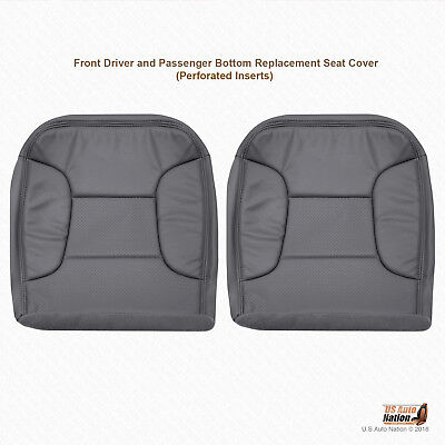 1992 - 1996 Ford Bronco Eddie Bauer DRIVER-PASSENGER Bottom Vinyl Cover DK GRAY