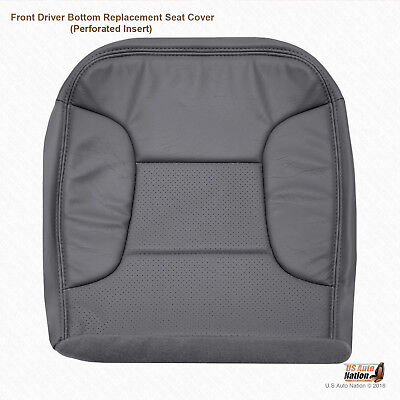1992 - 1996 Ford Bronco Eddie Bauer Driver Bottom Perforated Vinyl Cover Dk Gray