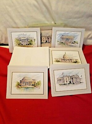 1988 National Society Daughters Of The American Revolution Postcards - 14 cards