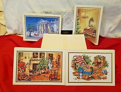 1988 National Society Daughters Of The American Revolution Postcards - 16 cards