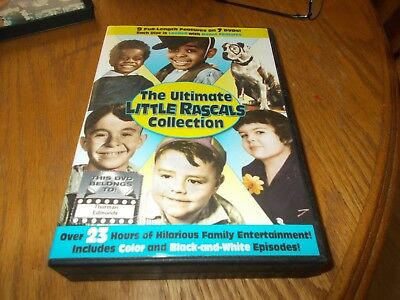 The Ultimate Little Rascals Collection 7- Dvd's