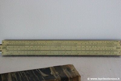 Regolo Calcolatore Vintage Marca Unique Vintage Universal Slide Rule