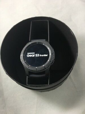 Samsung Galaxy Gear S3 Frontier 46mm Watch Stainless Steel Case AT&T R765A