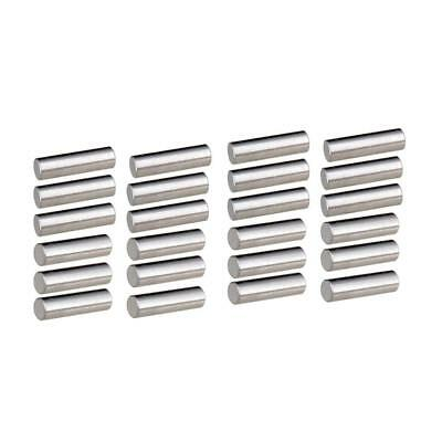 24pcs Alnico 5 Humbucker Pickup Polepiece Pickup Magnet Slug Rods 15mm/18mm