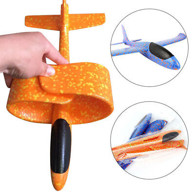 Plane Glider Hand Throw Airplane Toy Launch Detachable Gift Game Convolution