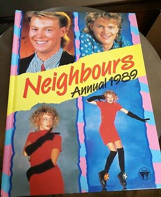 Neighbours Annual 1989 Kylie Minogue and Jason Donovan