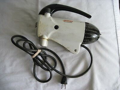 Vintage Sunbeam Mixmaster Model 10A Mixer Motor Head for Parts or Repair