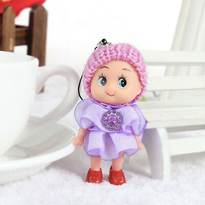 Baby Girl Dolls Toy Adorable Mini Soft Latex Interactive Educational Lovely 6