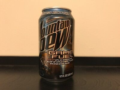 One Can, UNOPENED, Mountain Dew Game Fuel, Halo 3 Limited Edition