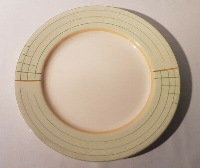 Art Deco Crown Ducal 10 Inch Dinner Plate 1920s 1930s