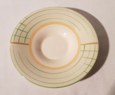 Art Deco Crown Ducal Saucer / Side Plate 1920s 1930s