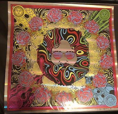 Jerry Garcia Bicycle Day 2018 - Pillars of Light Variant