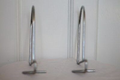 Ikea Flit Bookends Pack Of Two Steel W X H: 13 X 18Cm