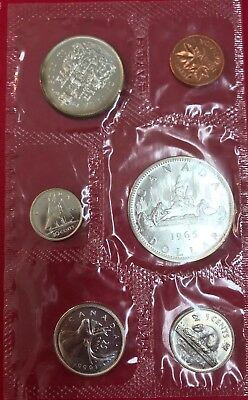 1965 Canadian Silver Proof Like Set in mint packaging