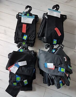M&S school trousers 2-3 years job lot 76 pairs NEW
