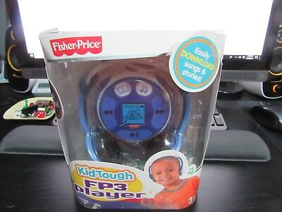 Fisher Price Kid Tough Fp3 Player Blue 128Mb Music Stories Unused Nib Ck It Out