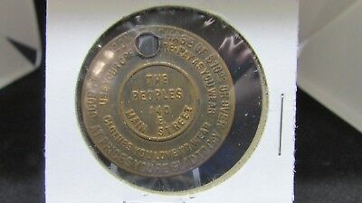 Vintage Commercial Token - The Peoples Store - good for discount - Swastika