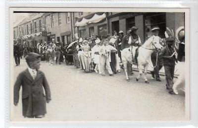 Picture postcard of Jubilee Day, Coldstream, 1934, Berwickshire (C32005)