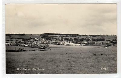 GREENLAW FROM GOLF COURSE: Berwickshire postcard (C32042)