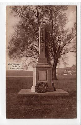 WAR MEMORIAL, GULLANE: East Lothian postcard (C32069)