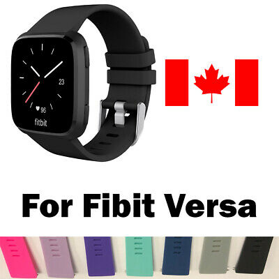 Replacement Silicone Wrist Band Strap For Fitbit Versa & Versa 2 Band Large