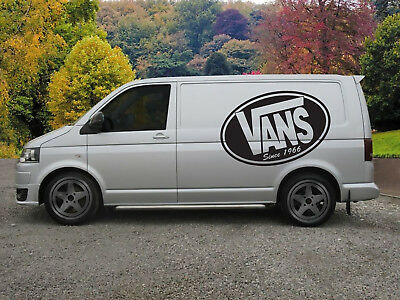 Huge Vans Surf Van Vinyl Sticker Decal x 2