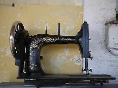RARE ANTIQUE BRADBURY Wellington Family Fiddle Base 40 Sewing Fascinating Sewing Machine Wellington