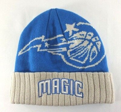 d24f3ca181414 Orlando Magic Nba Blue Knitted Beanie Winter Hat With Cuff New By Adidas B29