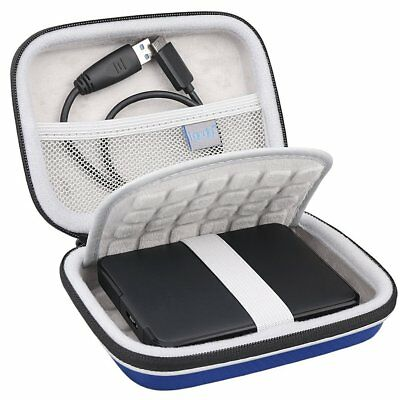 Lacdo EVA Shockproof Carrying Travel Case for Seagate Expansion, Seagate Backup
